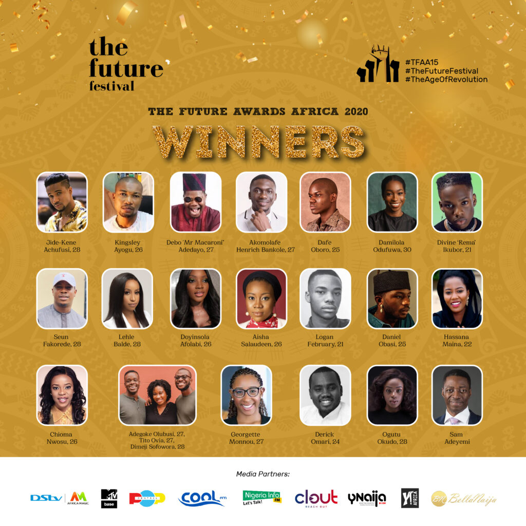 The Future Awards Africa 2020