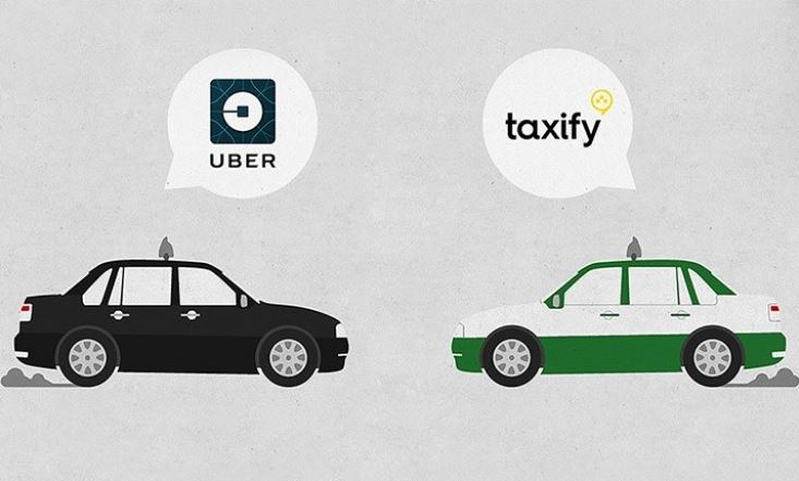 Uber and Taxify